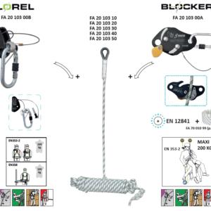 Dispositivi Protezione Individuale DPI DPI – Dispositivo a scorrimento manuale con fune